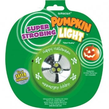 Amscan Pumpkin Strobe Light