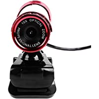 Youzee USB HD Webcam 10X Optical Zoom Web Cam Camera With MIC For PC