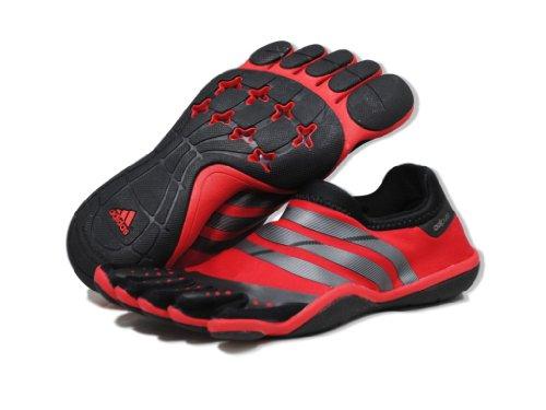 Controllo prezzo adidas adipure allenatore m uomini scarpe in rosso / nero