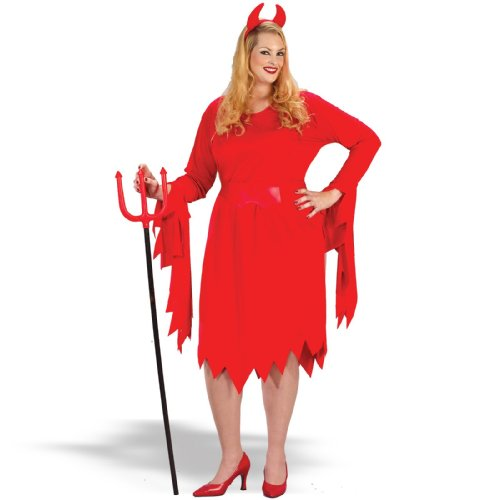 Adults' Plus Size Red Devil Costume