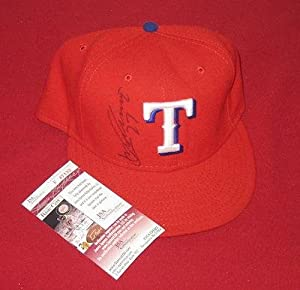 Vladimir Guerrero signed Texas Rangers baseball cap, - JSA Certified - Autographed... by Sports Memorabilia