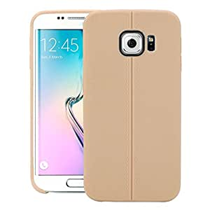 Galaxy S6 EDGE+ Case, LEAF Protective Tpu Back Case Cover For Samsung Galaxy S6 EDGE+ (Gold)