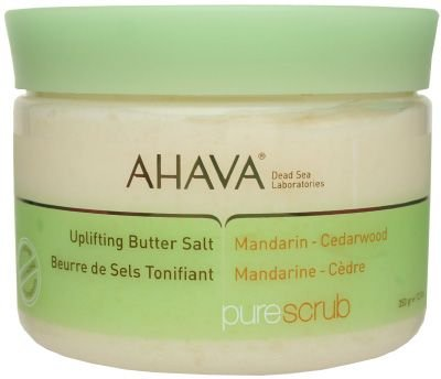 AHAVA Pure Scrub Uplifting Butter Salt (Mandarin  Cedarwood) 350g/12.3oz