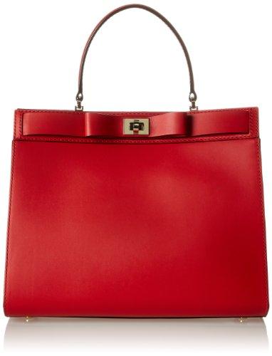 kate spade new york Mayfair Drive Tullie Top Handle Bag,Deep Blaze,One Size