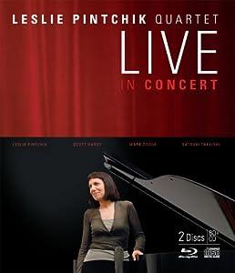 Leslie Pintchik Quartet Live In Concert (BD+CD) [Blu-ray]