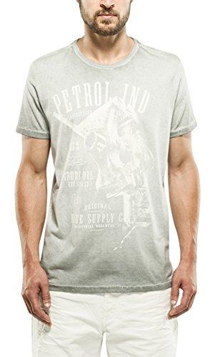 Petrol Industries T-Shirt SS R-Neck, Maglia a Maniche Corte Uomo, 988, M