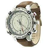 Timex Expedition E Tide Temp Compass Watch Leather -
