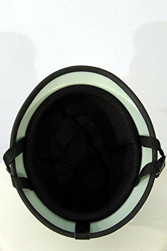 Motorcycle helmet Half shell helmet TC-66 Matt green L (one size) ABS, Polycarbon Polystyrene