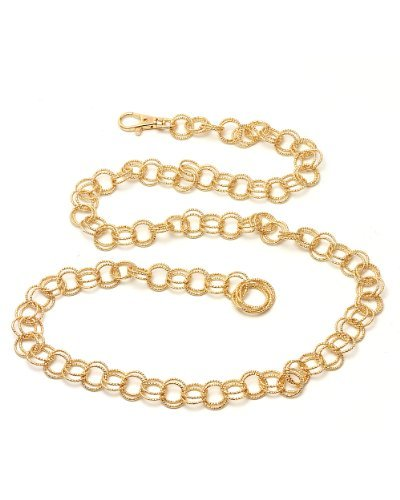 NYfashion101 Trendy Belly Chain Belt w/ Multi Link Chains IBT1000-Gold