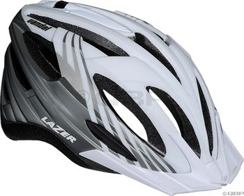 Buy Low Price Lazer Vandal Helmet with Visor: White/Titanium (BLU2005664890)