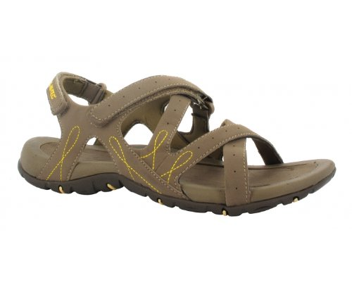 HI-TEC Waimea Falls Ladies Sandals, Chocolate, US6
