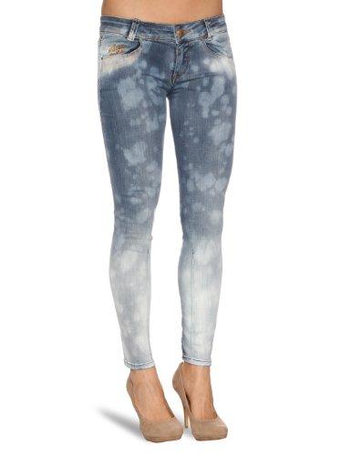 Killah Twizzle Skinny Womens Jeans blue denim W33INxL32IN