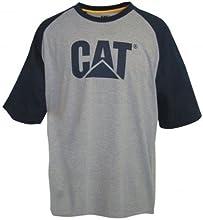 Comprar Caterpillar - Camiseta de manga corta con cuello redondo para hombre - Trabajo/Campo