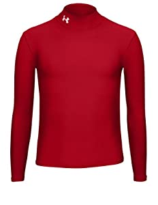 Under Armour Jungen Shirt Ua Cg Compression Mock, rot (red), 128 (YSM)