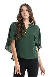 Kazo Women's Body Blouse Shirt (112701DPTLM)