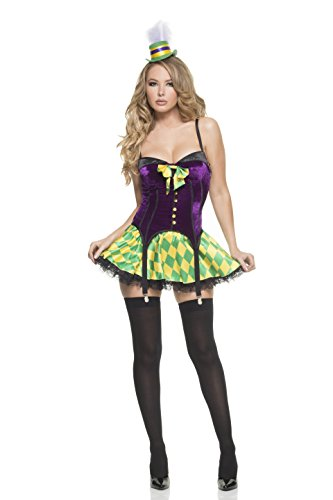 Mystery House Women's Mardi Gras Girl