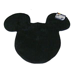 Amazon Com Disney Mickey Mouse Tufted Shaped Rug Bath Rugs