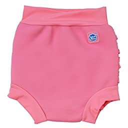 Splash About Kids Reusable Swim Happy Nappy (Pink Frilly Bum, XX Large (Toddler))