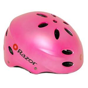 Razor Child V-17 Multi-Sport Helmet, Satin Pink
