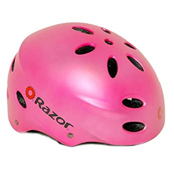 Set A Shopping Price Drop Alert For Razor V-17 Youth Multi-Sport Helmet (Satin Pink)