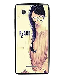 Techno Gadgets Back Cover for Gionee Elife S Plus