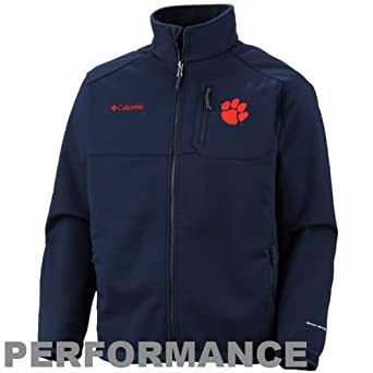 NCAA Columbia Florida Gators Ascender II Softshell Performance Jacket - Black by Columbia