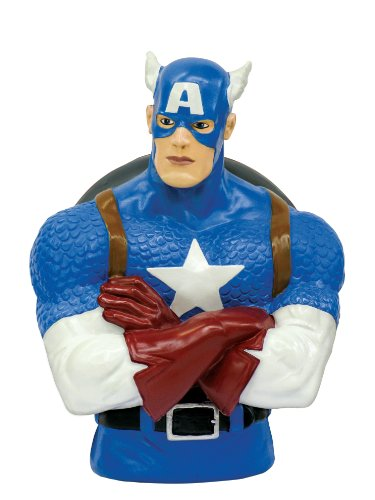 Marvel Captain America Bust Bank - 1