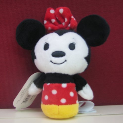 "Hallmark Itty Bittys Disney Minnie Mouse 5"" Plush"