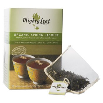 Mighty Leaf Tea Company - Mountain Spring Jasmine, 15 Tea Bags - 1.32 Oz