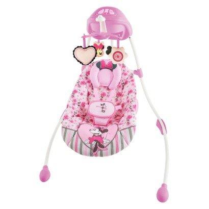Disney Baby Minnie Mouse Precious Petals Swing
