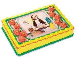 Edible Cake Images Storage : Amazon.com: Wizard of Oz Dorothy Edible Cake Topper ...