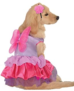 Rubies Costume Halloween Classics Collection Pet Costume, Medium, Pink and Purple Fairy