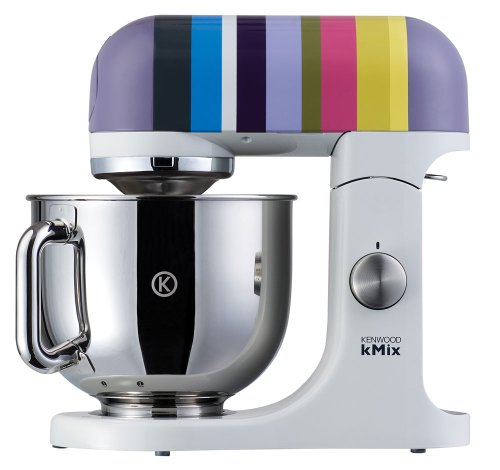 Kenwood kMix KMX80 Stand Mixer, Barcelona Stripes by Kenwood