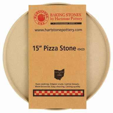Hartstone Pottery Pizza Baking Stone