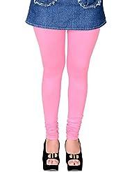 LGC Viscose Lycra Pink Legging For Women