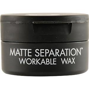 Bed Head for Men de TIGI Bed Head Hair Care Matte Separation Wax m 75g