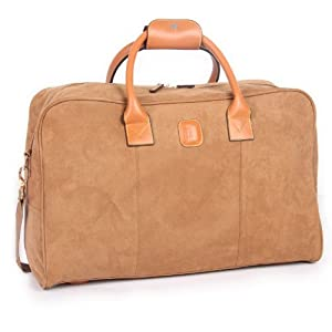 "IT Luggage Honey Medium 55.9cm/22"" Faux Suede Weekend Holdall"