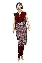 Women's Chanderi Cotton Unstitched Salwar Suit Dress Material (Dress_708_FreeSize_Multicolor)