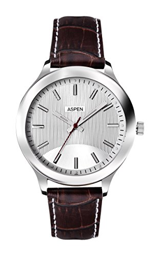Aspen Aspen Workwear Analog Silver Dial Men's Watch - AM0038