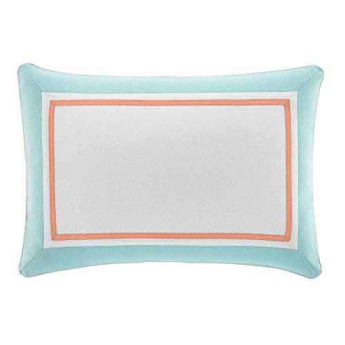 Nautica Bell Point Pieced Breakfast Pillow, Blue