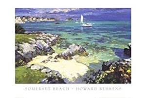 Somerset Beach by Howard Behrens - 27 x 35 inches - Fine Art Print / Poster
