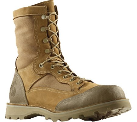 Wellco Men's USMC R.A.T. Temperate Weather Combat Boot,Mojave,US 9 R