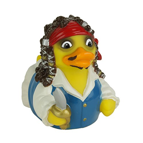 CelebriDucks Captain Quack Pirate of Quackibbean RUBBER DUCK Bath Toy