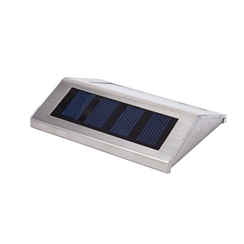 Stair Light Detail: Lightess Solar Stair Lights Outdoor LED Step Lighting 2