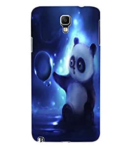 ColourCraft Cute Panda Design Back Case Cover for SAMSUNG GALAXY NOTE 3 NEO DUOS N7502