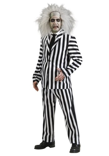 Rubies Mens Beetlejuice Deluxe Theme Party Fancy Costume