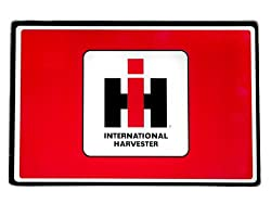 R&D Enterprises/Motorhead Products MH-0994 12-Inch by 15-3/4-Inch Tempered Glass Cutting Board Featuring International Harvester Logo