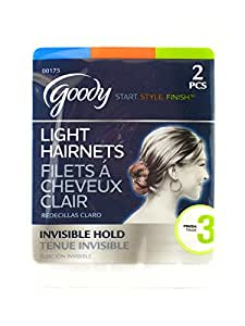Goody Invisible Hair Nets (Light Invisible)