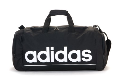 Adidas Linear Ess Tbm Gym Bag Duffle Bag (Black)