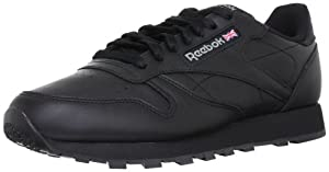 REEBOK Mens Classic Leather - schwarz Gr. 44.5